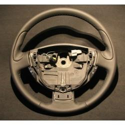 Volant Clio II RS cuir Nappa lisse et cuir perforé