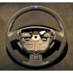 Volant Clio II RS cuir Nappa lisse et Alcantara