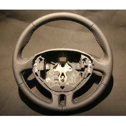 Volant Renault Clio 3 finition cuir nappa perforé latéral